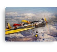 Flying Pig - Plane -The joy ride Canvas Print