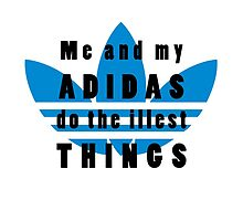 Me and My Adidas by tanguyg
