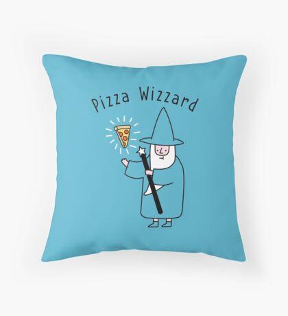 Pizza Wizzard Throw Pillow