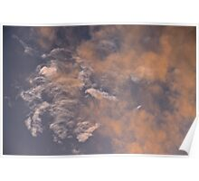 Marbled Clouds Poster