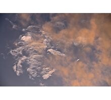 Marbled Clouds Photographic Print