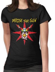 Praise the sun 2 Womens Fitted T-Shirt