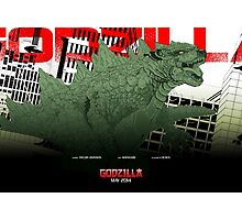 Godzilla Movie Poster by JRemy