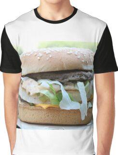 McDonalds Big Mac Attack Graphic T-Shirt