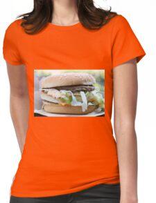 McDonalds Big Mac Attack Womens Fitted T-Shirt