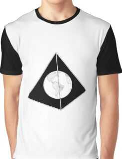 Lost World in Pyramid Graphic T-Shirt