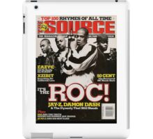 Jay-Z, The ROC, Source Magazine Cover iPad Case/Skin