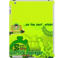 SportLifeManager Pro iPad Case/Skin