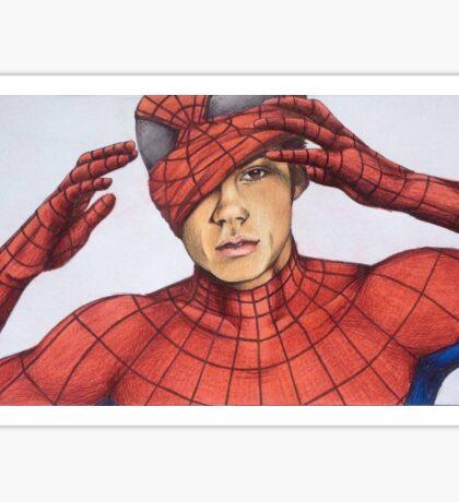 Dylan O'Brien Spider-Man Sticker