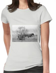 Wild Dreams Womens Fitted T-Shirt