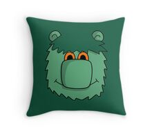 MUZZY Throw Pillow