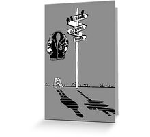 'Get Home' Greeting Card
