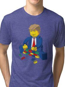 Build A Wall Trump T-Shirt T-Shirt Tri-blend T-Shirt