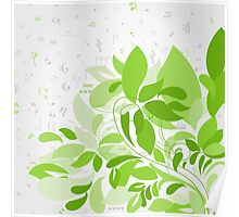 Plant music Poster