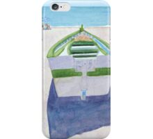 Nerja Boats II iPhone Case/Skin
