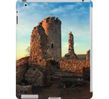 The ruins of Waxenberg castle | architectural photography iPad Case/Skin