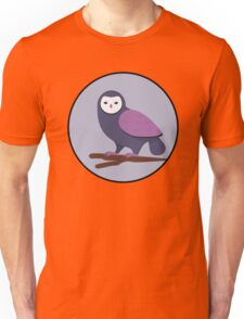 Cool Night Owl  Unisex T-Shirt