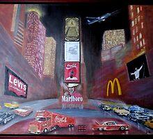 ELVIS in Times Square by danielgomez