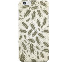 Wheat a background iPhone Case/Skin