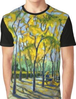 Civic Square at Burnaby Public Library. Autumn. Graphic T-Shirt