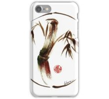 """eternity"" :  Enso sumi-e dry brush acrylic painting   iPhone Case/Skin"