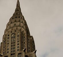 The Chrysler Building - NYC by Karen Paquette