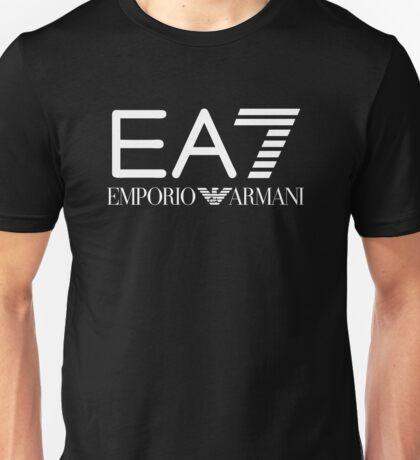 Emporio Armani 7 White Unisex T-Shirt