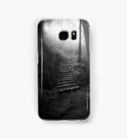 Mountain Steps B&W (Holga) Samsung Galaxy Case/Skin