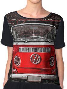 Volkswagen combi Red Chiffon Top