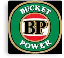 Bucket Power logo parody Canvas Print