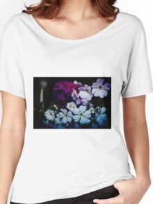 Rainy Flowers Women's Relaxed Fit T-Shirt
