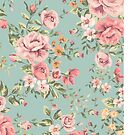 Vintage Floral Pattern by B Rush
