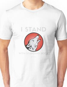 Stand with Standing Rock Protest Unisex T-Shirt