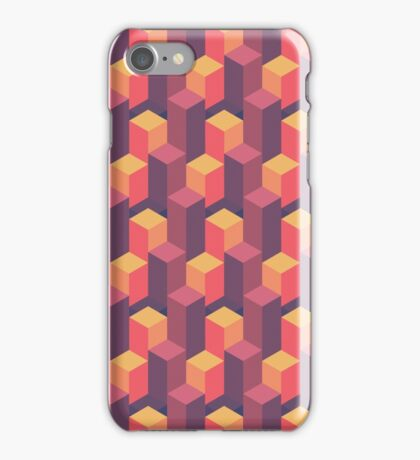 Sunset Isometric iPhone Case/Skin