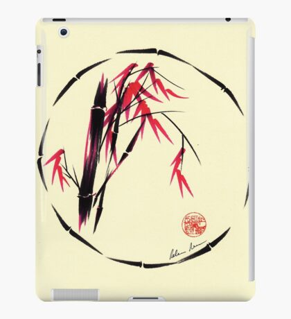 Forgive - Enso bamboo brush painting iPad Case/Skin