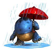 Rain Quaggan Photographic Print
