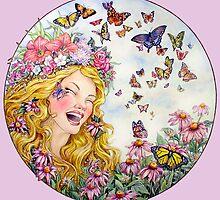 Summer Goddess by BDMillustration
