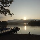 Sunset Derwent Water by frogs123