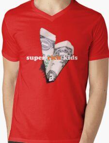 Super Rich Kids Mens V-Neck T-Shirt