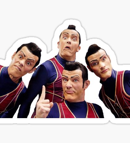 We are number one! Sticker