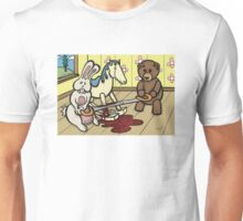 Teddy Bear and Bunny - The Price Of Freedom Unisex T-Shirt