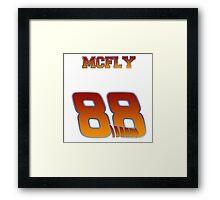 Team McFly, get on board...hoverboard. Framed Print
