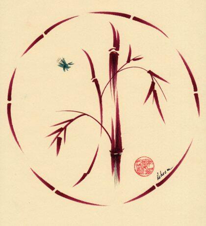 Sacred Circle - Original Enso Zen Painting Sticker