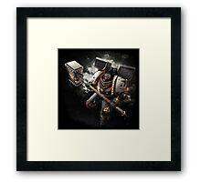 Warhammer - Black Templar Framed Print