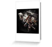 Warhammer - Black Templar Greeting Card