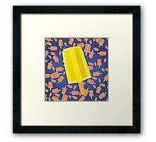Lemon Ice Framed Print