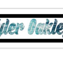 tyler oakley water Sticker