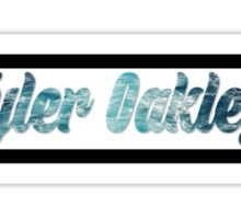 tyler oakley water Sticker
