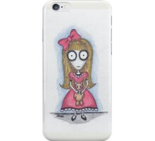 but all i did was hug him.  (claudia) iPhone Case/Skin
