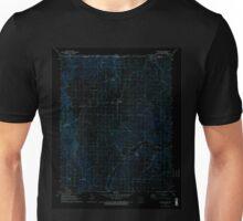 USGS TOPO Map Arkansas AR Blue Eye 258003 1972 24000 Inverted Unisex T-Shirt